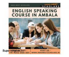 English speaking course in Ambala