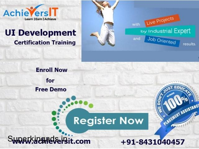 UI development training bangalore - 1/1