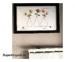 Unique Flower-Port frame for gift to someone special on any