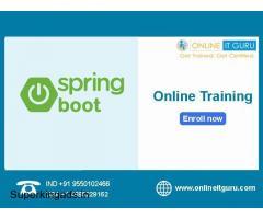 spring boot online training hyderabad