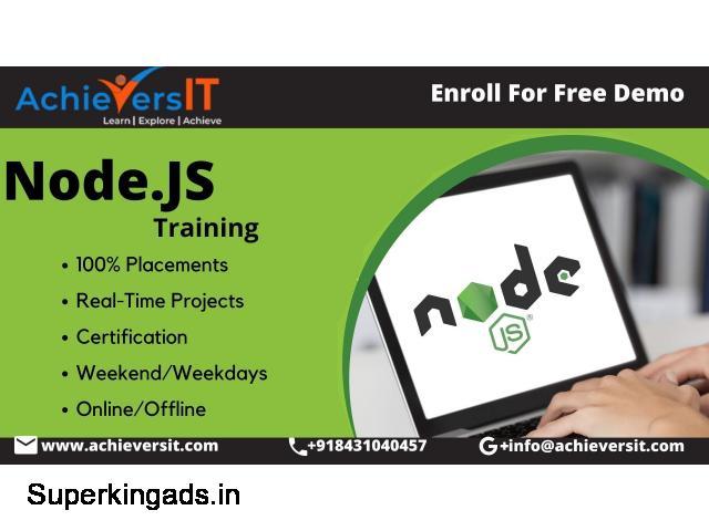 Best nodejs Training institute in Bangalore - 1/4