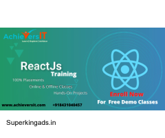 Best React JS Training With 100% Placement