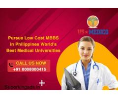 Pursue Low Cost MBBS in Philippines