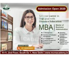 MBA Course Distance Learning Online Admission Open 2020