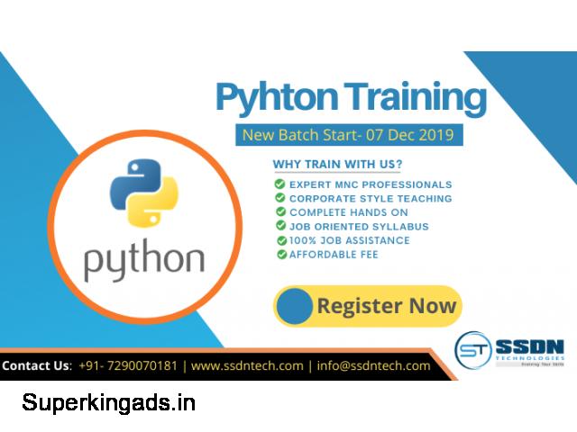 Python Training in Gurgaon - 1/1