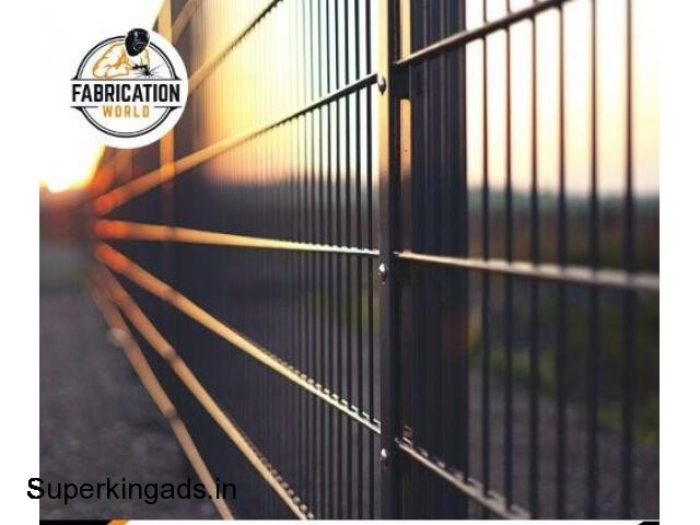 Boundary Wall Fabrication Services in Best Price - 1/1