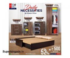 Wooden Beds Online Mumbai | Best Wooden Wardrobe in Mumbai