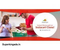 Start your Billion Dollar Instacart Clone Grocery Business