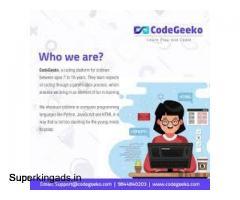 CodeGeeko - Online Programming Course for Kids