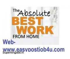 FREE REGISTRATION WORK FROM HOME ONLINE JOBS ON MOBILE, LAPT