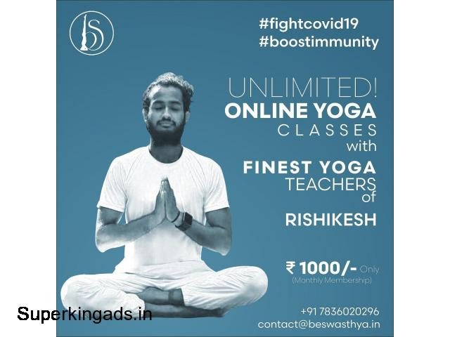 Unlimited online yoga classes with Be Swasthya - 1/1