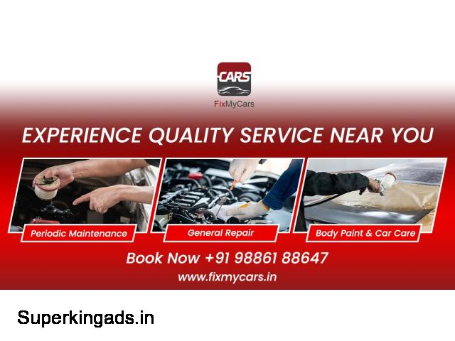 Car Maintenance Service in Bangalore | Fixmycars.in - 1/1