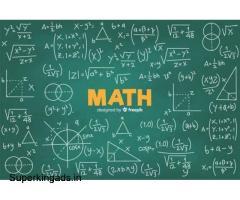 Best Maths Tutor Online - Crazychap