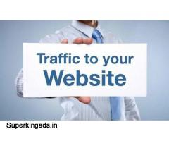Get up to 60% off on buying website traffic - Organic Traffi