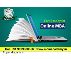 Distance Online MBA Course Admission Open 2021