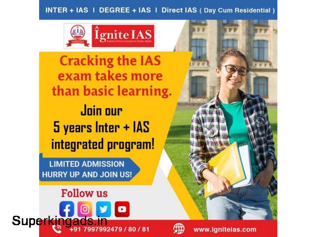 Best Academy for Inter + IAS Coaching in Hyderabad - 1/2