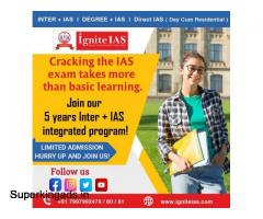 Best Academy for Inter + IAS Coaching in Hyderabad