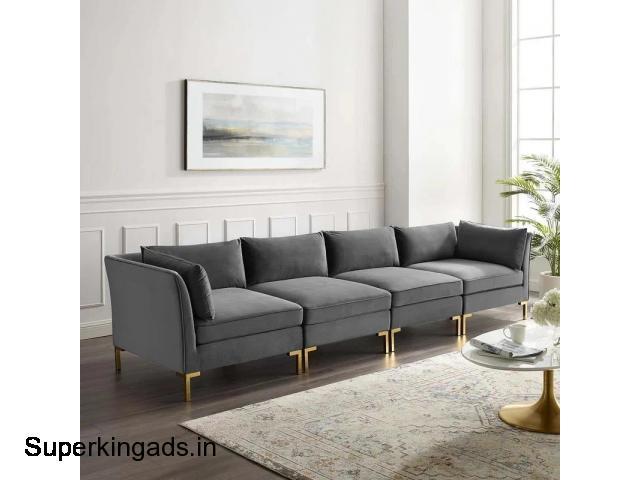 4 Seater Sofa Set - 1/1
