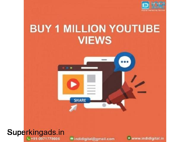 How to Choose the best site to buy 1 Million YouTube Views - 1/1